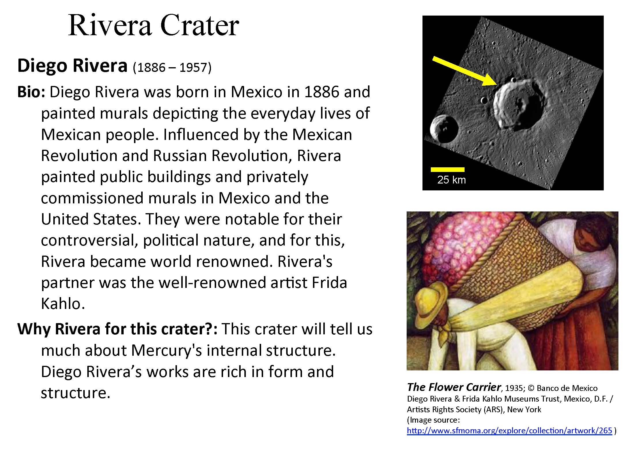Rivera Crater