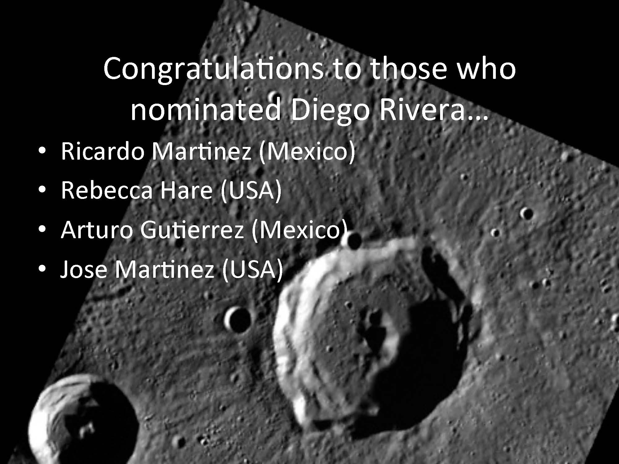 Rivera Congratulations